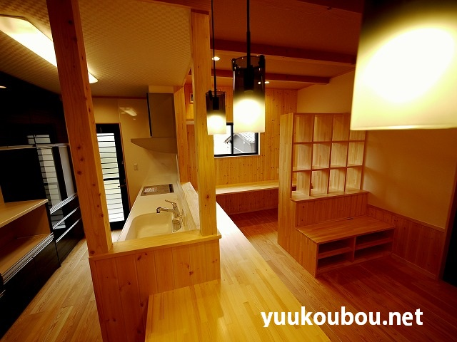 キッチン・勉強スペース